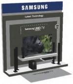 Rack TV Display